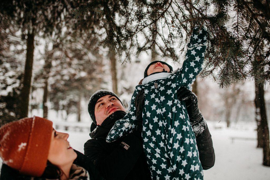 rodzinna sesja zimowa chelm 39 1024x683 - Justyna i Kamil z dziećmi – zimowa sesja rodzinna