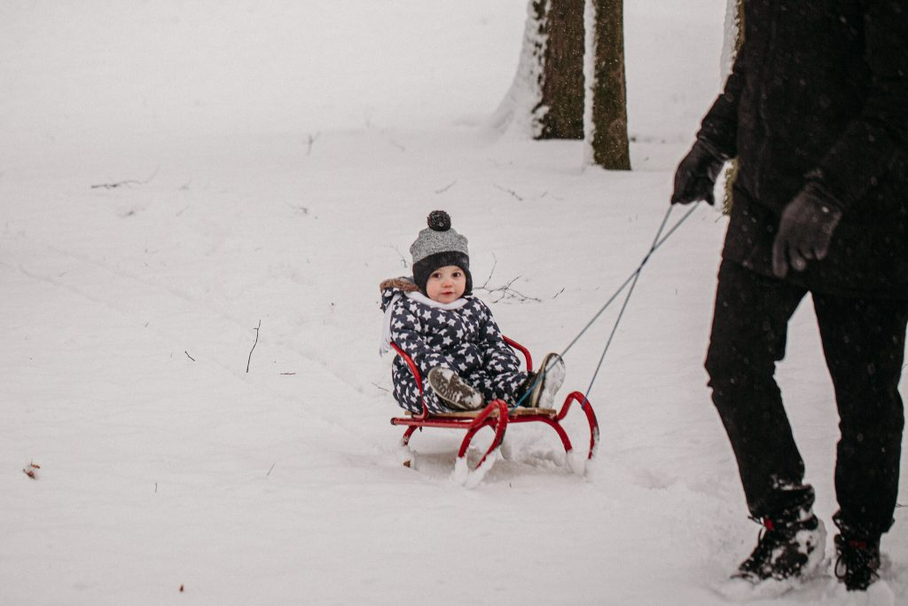 rodzinna sesja zimowa chelm 5 1024x683 - Justyna i Kamil z dziećmi – zimowa sesja rodzinna