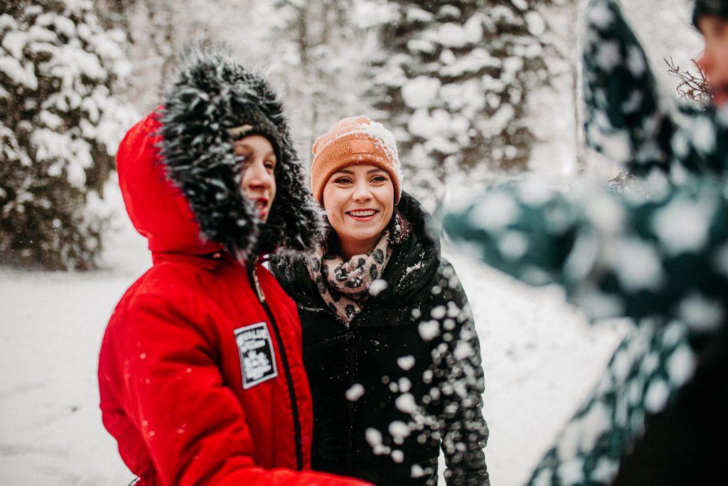 rodzinna sesja zimowa chelm 56 1024x683 - Justyna i Kamil z dziećmi – zimowa sesja rodzinna