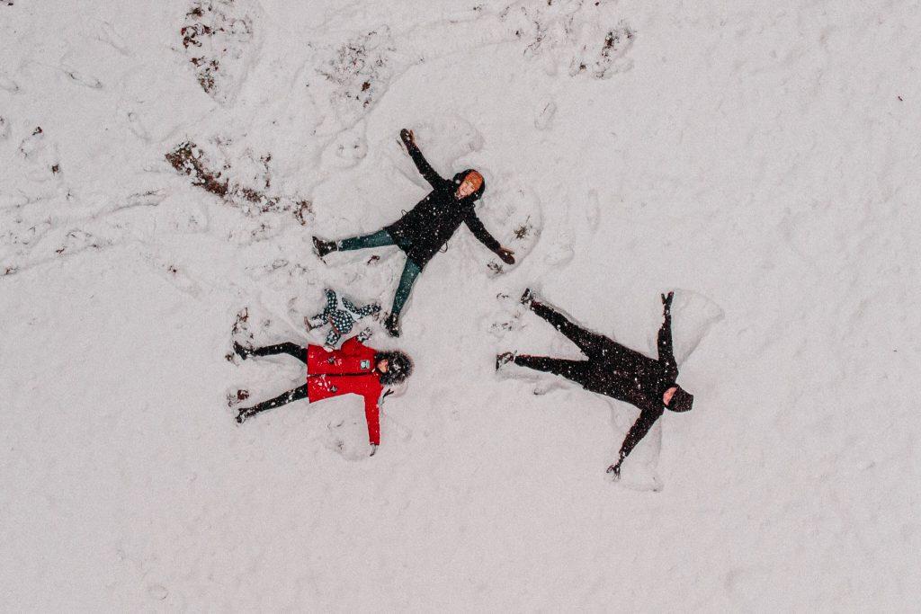 rodzinna sesja zimowa chelm 62 1024x683 - Justyna i Kamil z dziećmi – zimowa sesja rodzinna