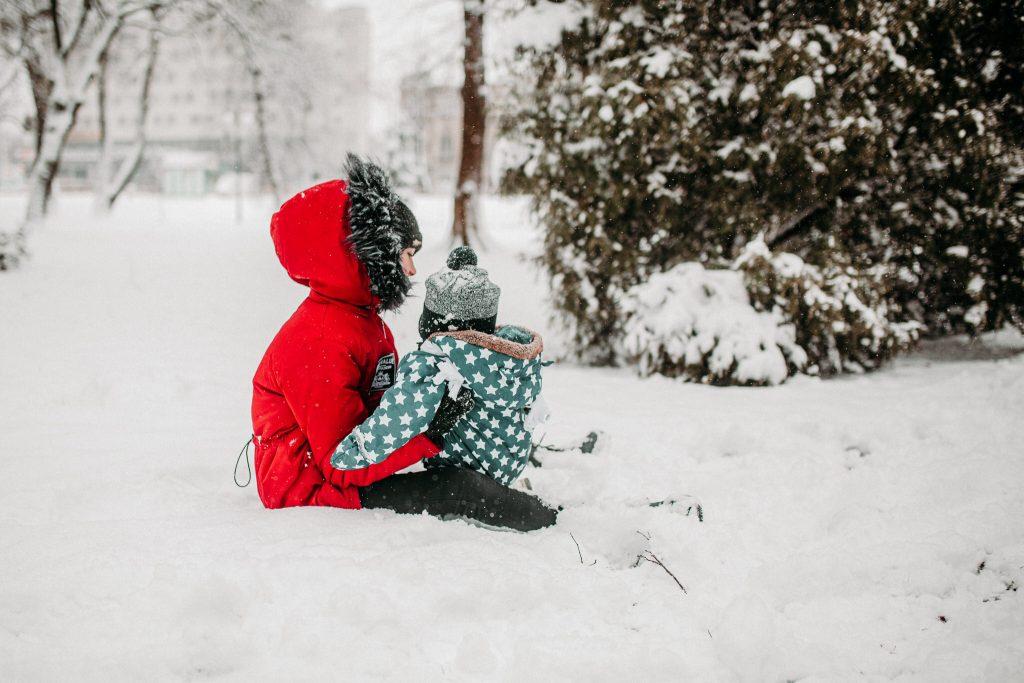 rodzinna sesja zimowa chelm 64 1024x683 - Justyna i Kamil z dziećmi – zimowa sesja rodzinna