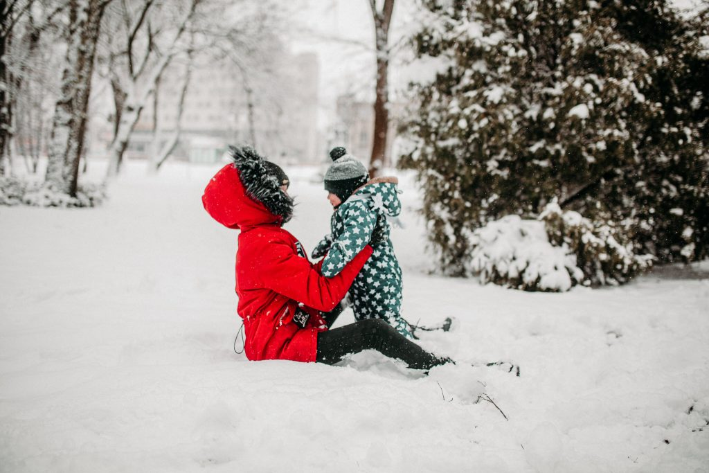 rodzinna sesja zimowa chelm 65 1024x683 - Justyna i Kamil z dziećmi – zimowa sesja rodzinna