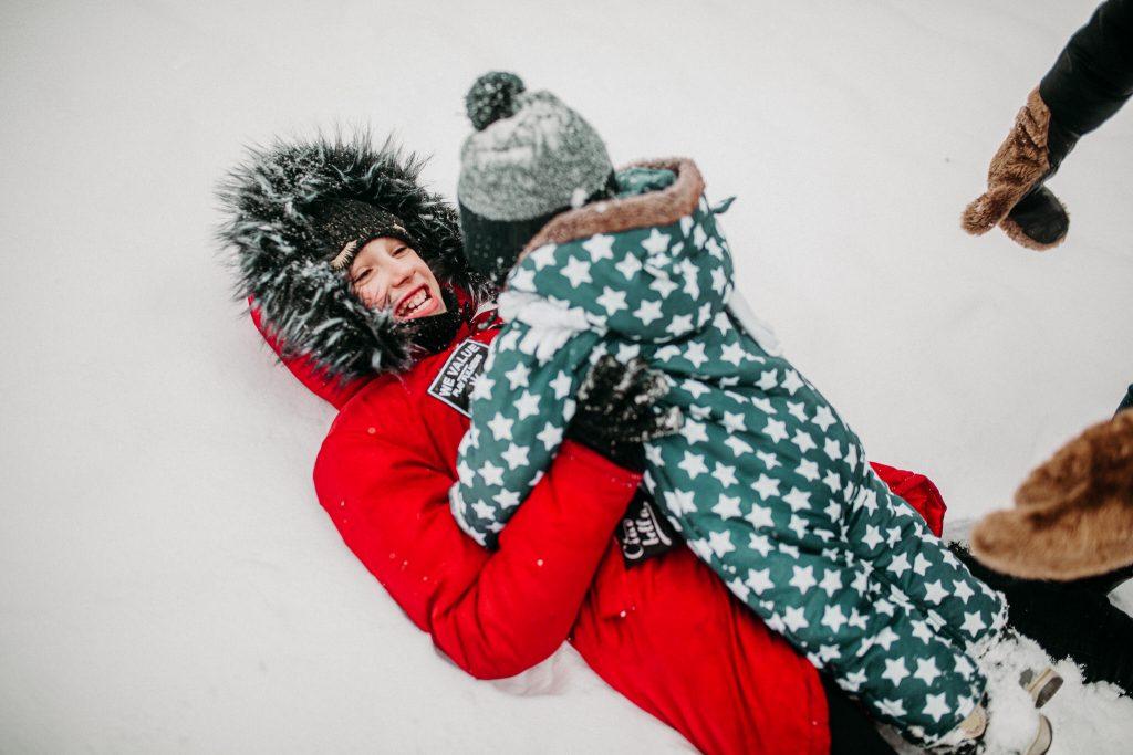 rodzinna sesja zimowa chelm 66 1024x683 - Justyna i Kamil z dziećmi – zimowa sesja rodzinna
