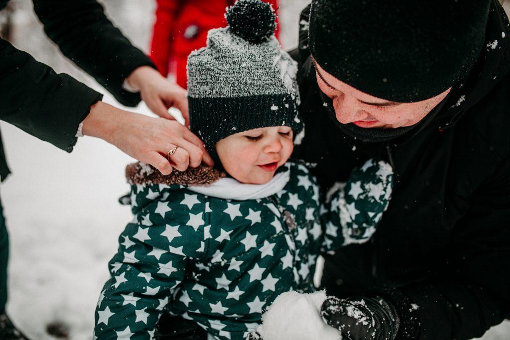 rodzinna sesja zimowa chelm 72 1024x683 - Justyna i Kamil z dziećmi – zimowa sesja rodzinna