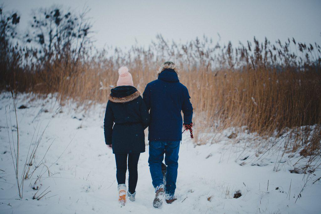 zimowa sesja zakochanych kasia daniel 1 1024x683 - Sesja zimowa zakochanej pary - Kasia i Daniel | 17.01.2021