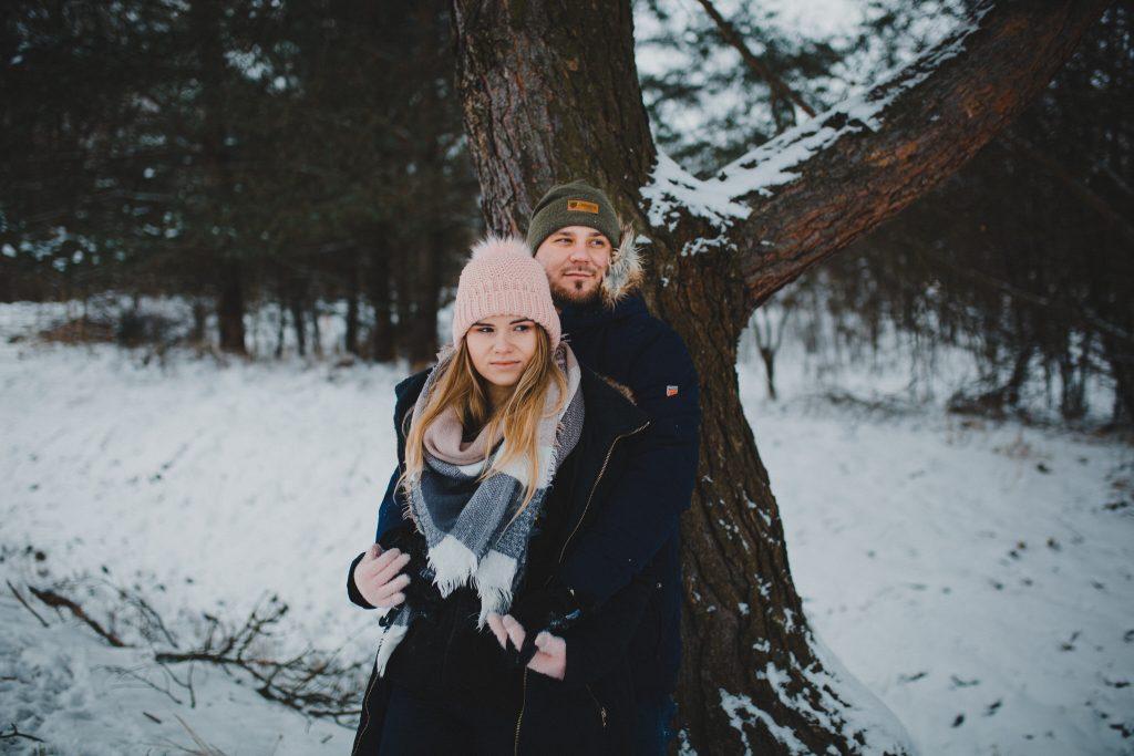 zimowa sesja zakochanych kasia daniel 100 1024x683 - Sesja zimowa zakochanej pary - Kasia i Daniel | 17.01.2021