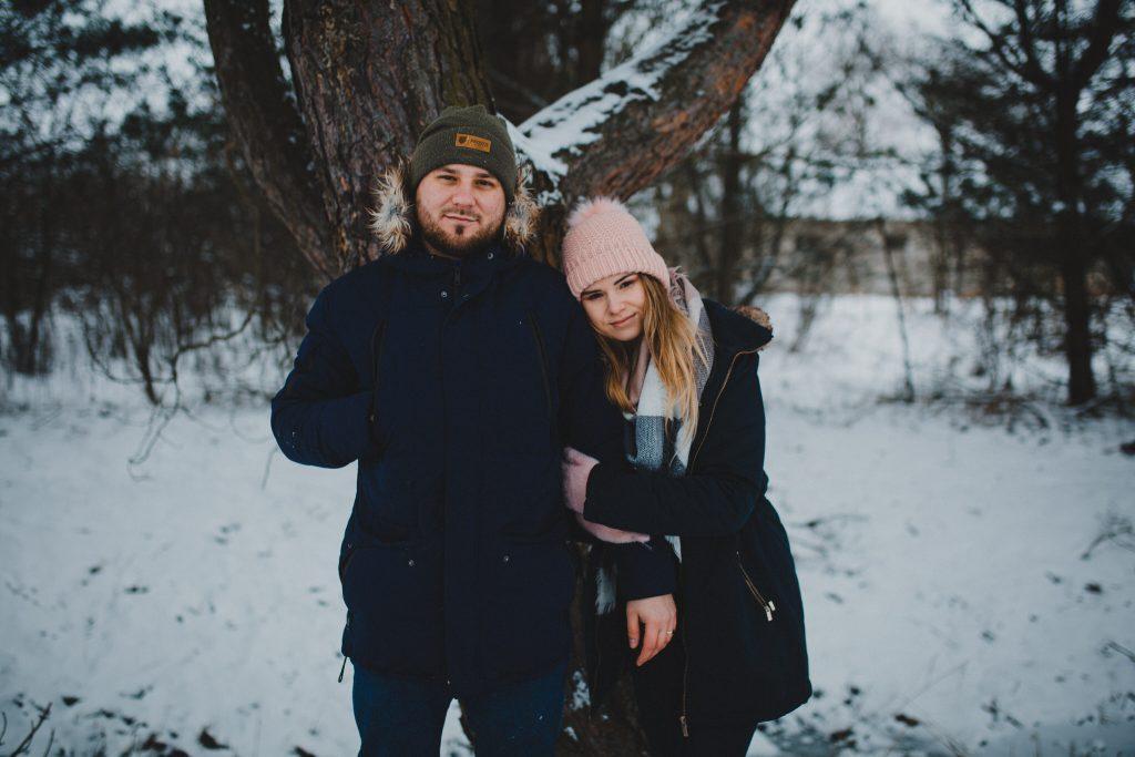 zimowa sesja zakochanych kasia daniel 101 1024x683 - Sesja zimowa zakochanej pary - Kasia i Daniel | 17.01.2021