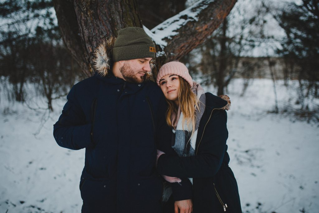 zimowa sesja zakochanych kasia daniel 102 1024x683 - Sesja zimowa zakochanej pary - Kasia i Daniel | 17.01.2021