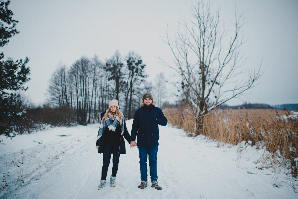 zimowa sesja zakochanych kasia daniel 105 1024x683 - Sesja zimowa zakochanej pary - Kasia i Daniel | 17.01.2021