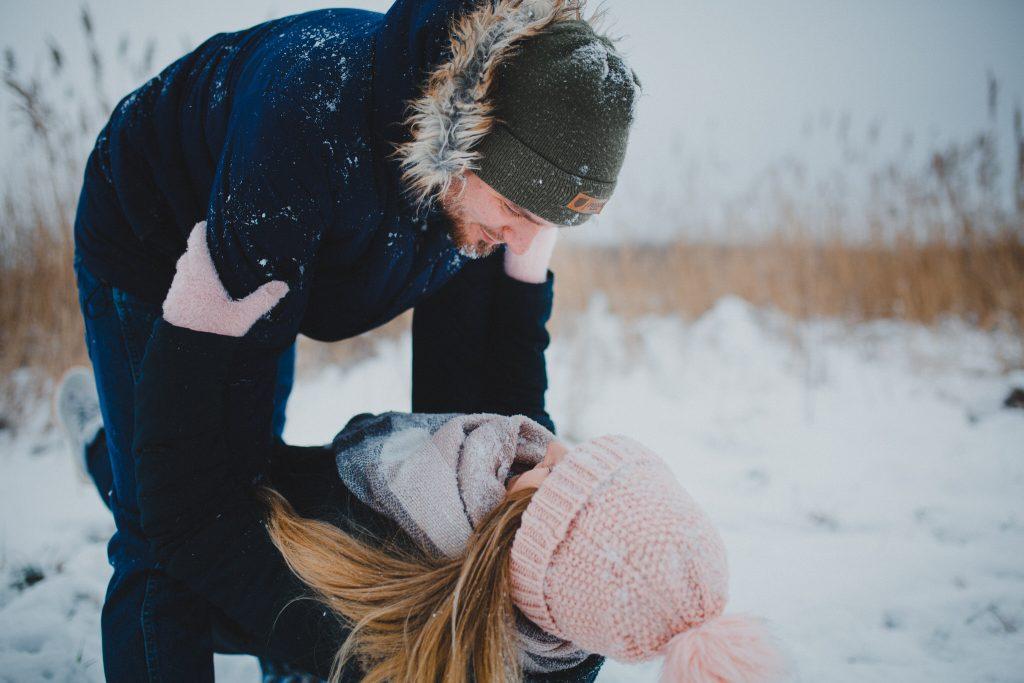 zimowa sesja zakochanych kasia daniel 12 1024x683 - Sesja zimowa zakochanej pary - Kasia i Daniel | 17.01.2021