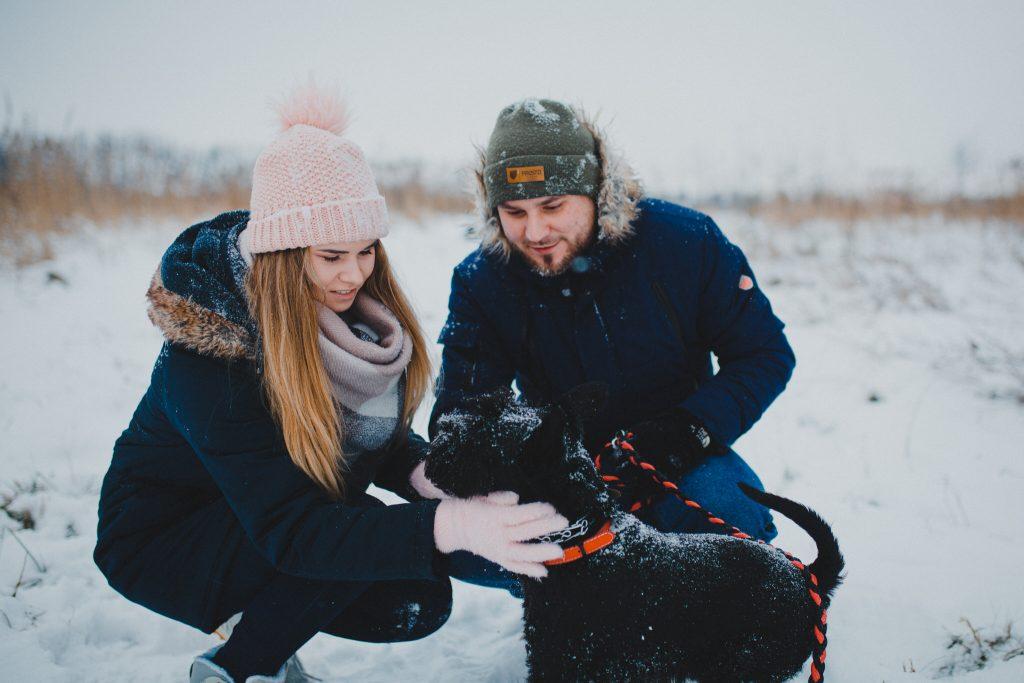 zimowa sesja zakochanych kasia daniel 13 1024x683 - Sesja zimowa zakochanej pary - Kasia i Daniel | 17.01.2021