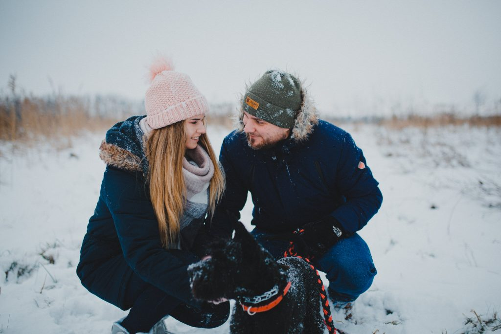 zimowa sesja zakochanych kasia daniel 14 1024x683 - Sesja zimowa zakochanej pary - Kasia i Daniel | 17.01.2021