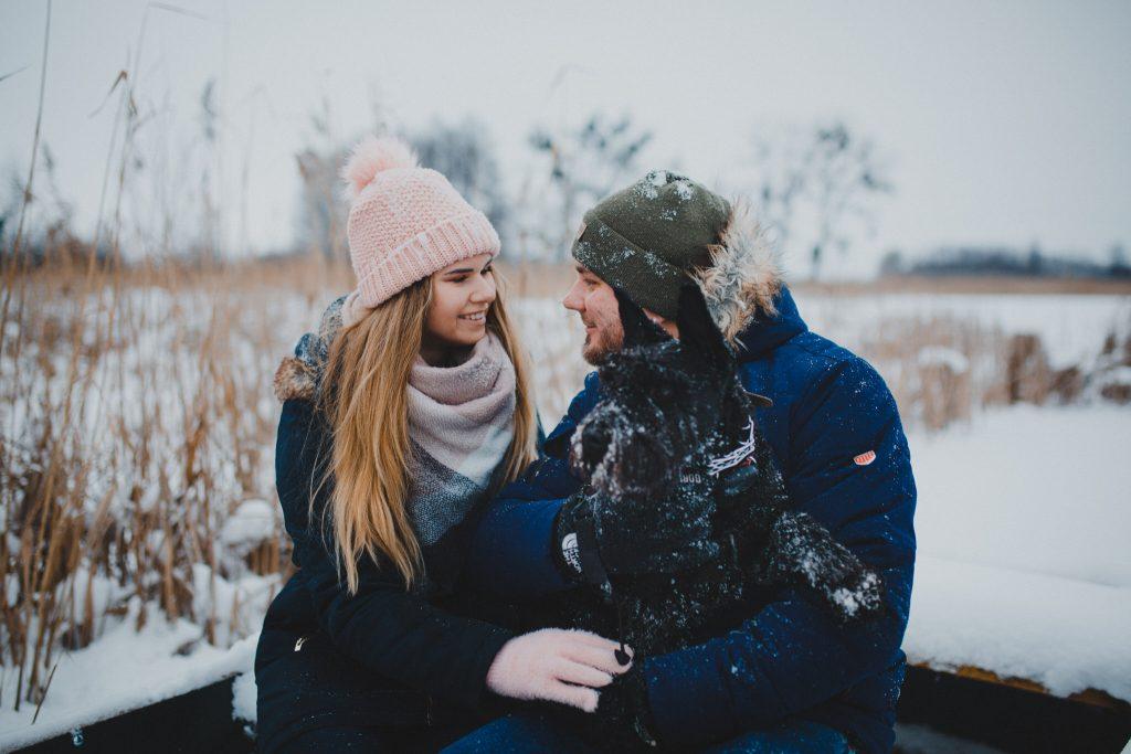 zimowa sesja zakochanych kasia daniel 17 1024x683 - Sesja zimowa zakochanej pary - Kasia i Daniel | 17.01.2021