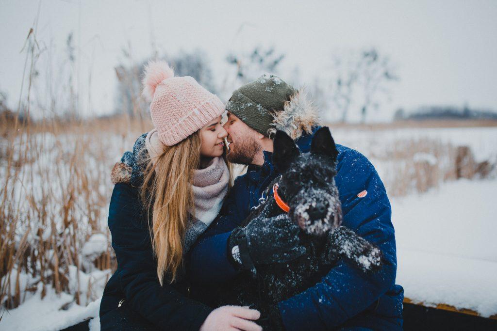 zimowa sesja zakochanych kasia daniel 19 1024x683 - Sesja zimowa zakochanej pary - Kasia i Daniel | 17.01.2021