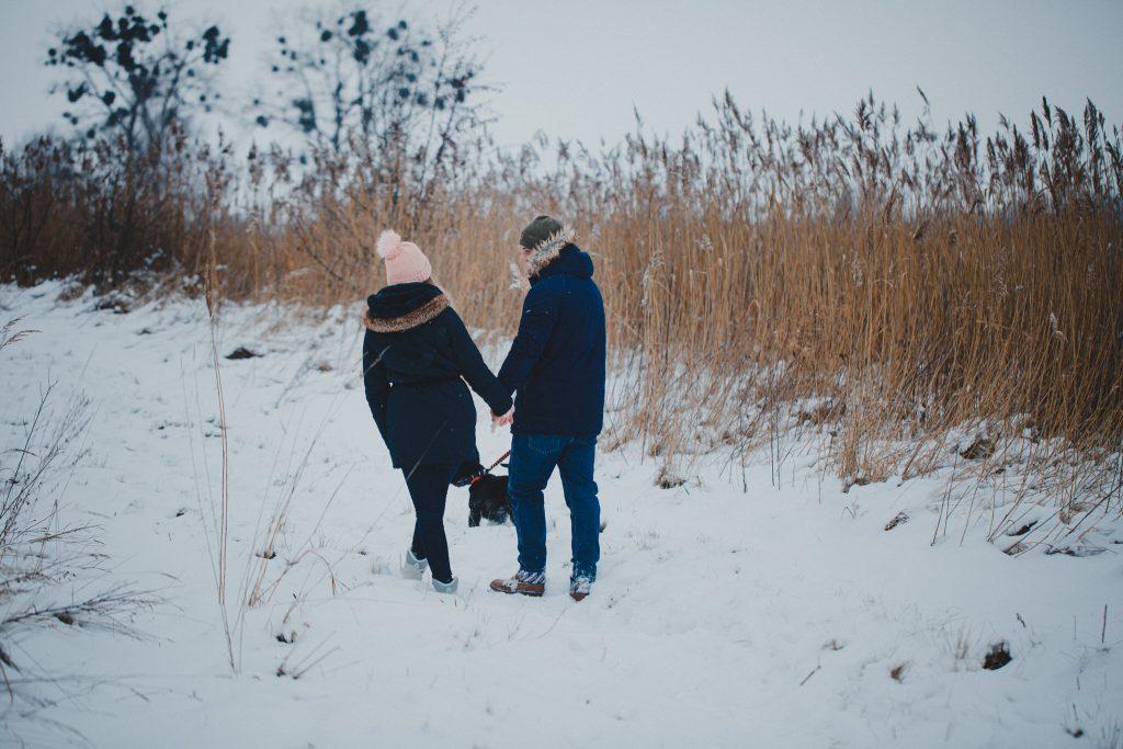 zimowa sesja zakochanych kasia daniel 2 1024x683 - Sesja zimowa zakochanej pary - Kasia i Daniel | 17.01.2021