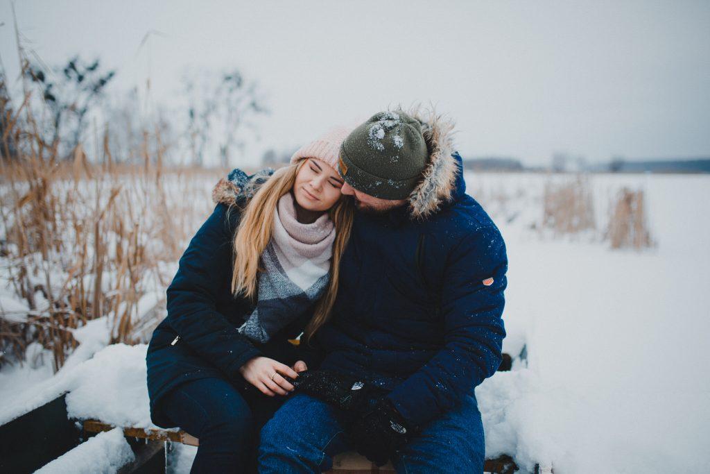 zimowa sesja zakochanych kasia daniel 20 1024x683 - Sesja zimowa zakochanej pary - Kasia i Daniel | 17.01.2021