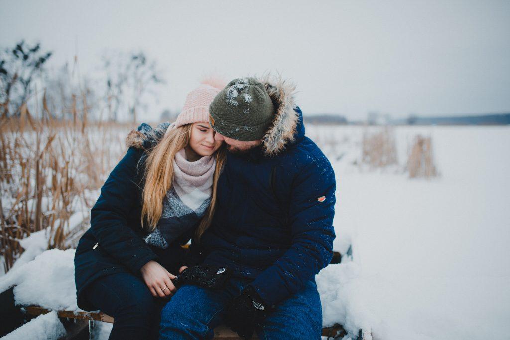 zimowa sesja zakochanych kasia daniel 21 1024x683 - Sesja zimowa zakochanej pary - Kasia i Daniel | 17.01.2021