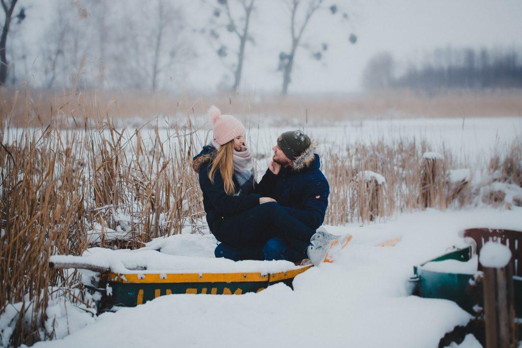 zimowa sesja zakochanych kasia daniel 22 1024x683 - Sesja zimowa zakochanej pary - Kasia i Daniel | 17.01.2021