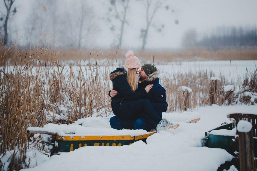 zimowa sesja zakochanych kasia daniel 23 1024x683 - Sesja zimowa zakochanej pary - Kasia i Daniel | 17.01.2021