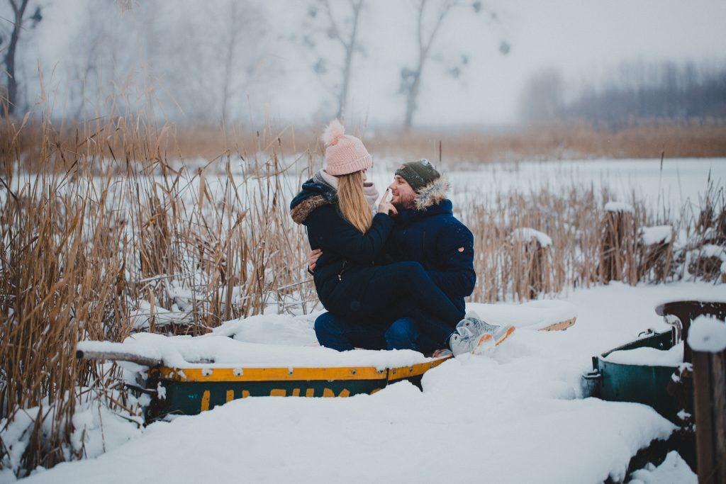 zimowa sesja zakochanych kasia daniel 25 1024x683 - Sesja zimowa zakochanej pary - Kasia i Daniel | 17.01.2021