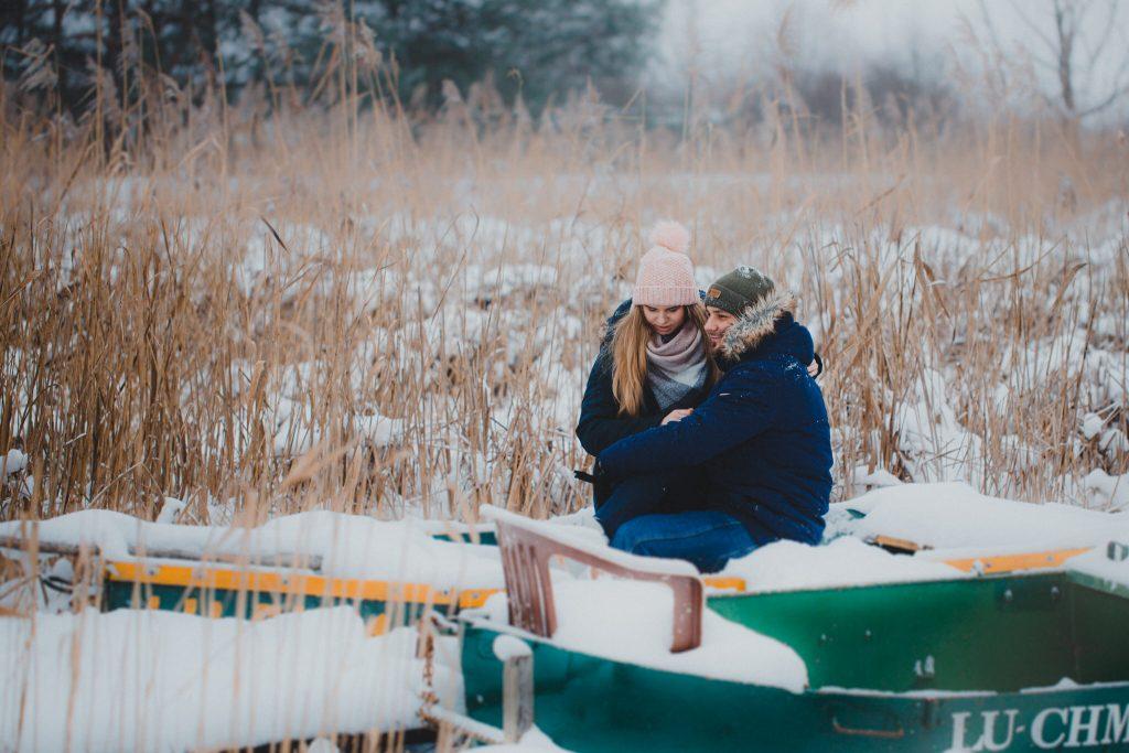 zimowa sesja zakochanych kasia daniel 26 1024x683 - Sesja zimowa zakochanej pary - Kasia i Daniel | 17.01.2021