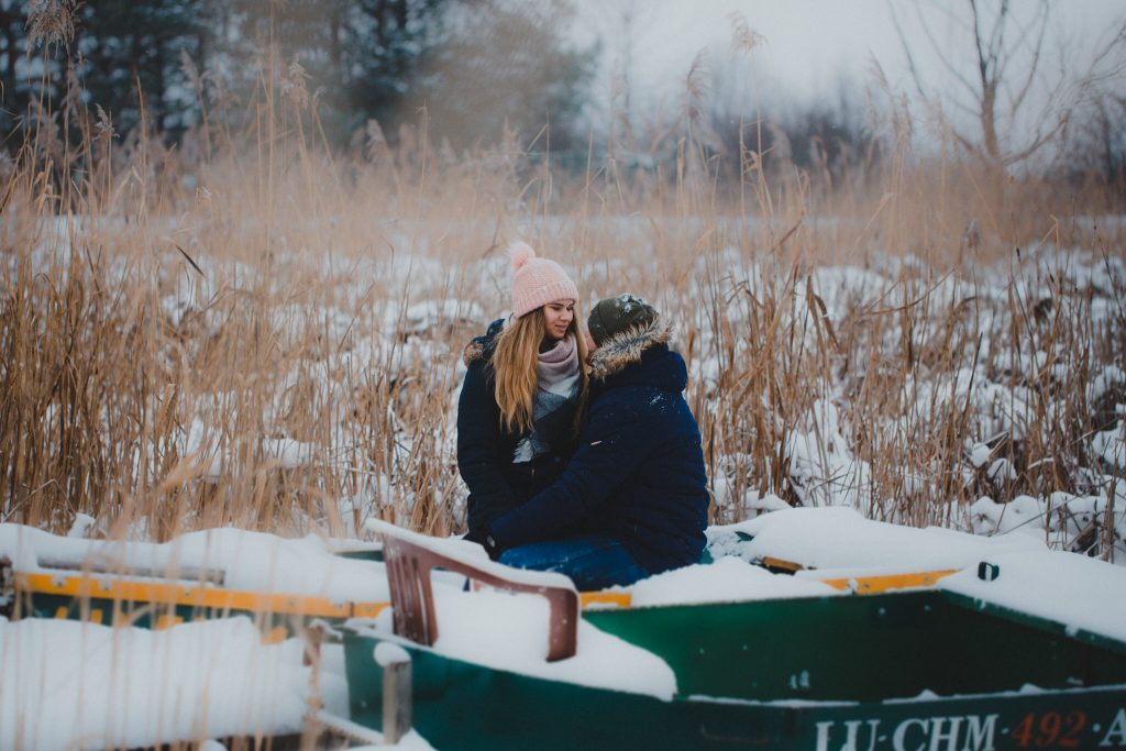 zimowa sesja zakochanych kasia daniel 27 1024x683 - Sesja zimowa zakochanej pary - Kasia i Daniel | 17.01.2021