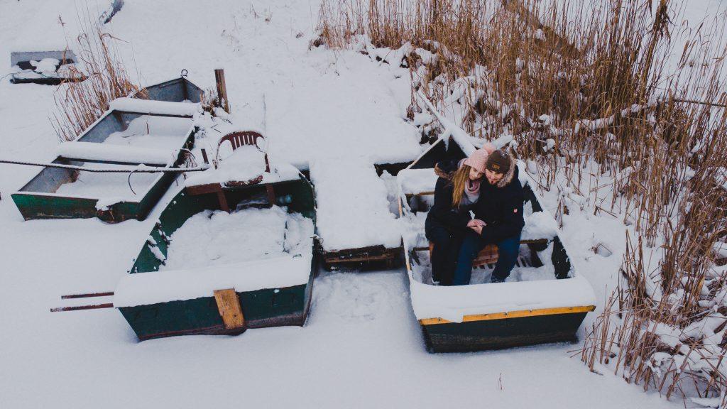 zimowa sesja zakochanych kasia daniel 28 1024x576 - Sesja zimowa zakochanej pary - Kasia i Daniel | 17.01.2021
