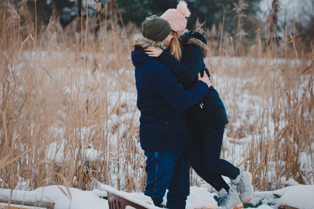 zimowa sesja zakochanych kasia daniel 32 1024x683 - Sesja zimowa zakochanej pary - Kasia i Daniel | 17.01.2021