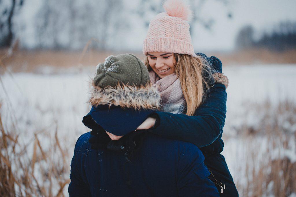 zimowa sesja zakochanych kasia daniel 34 1024x683 - Sesja zimowa zakochanej pary - Kasia i Daniel | 17.01.2021