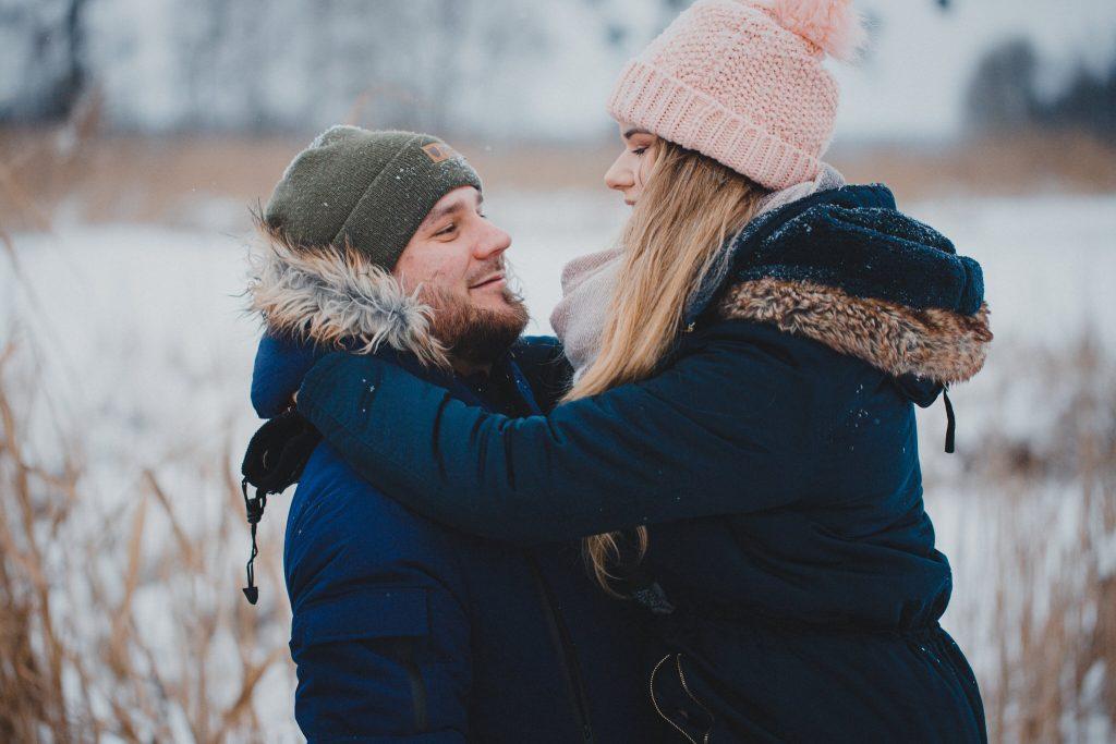 zimowa sesja zakochanych kasia daniel 35 1024x683 - Sesja zimowa zakochanej pary - Kasia i Daniel | 17.01.2021
