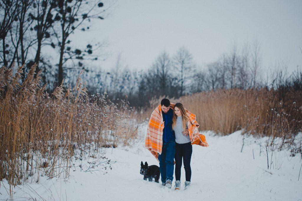 zimowa sesja zakochanych kasia daniel 36 1024x683 - Sesja zimowa zakochanej pary - Kasia i Daniel | 17.01.2021