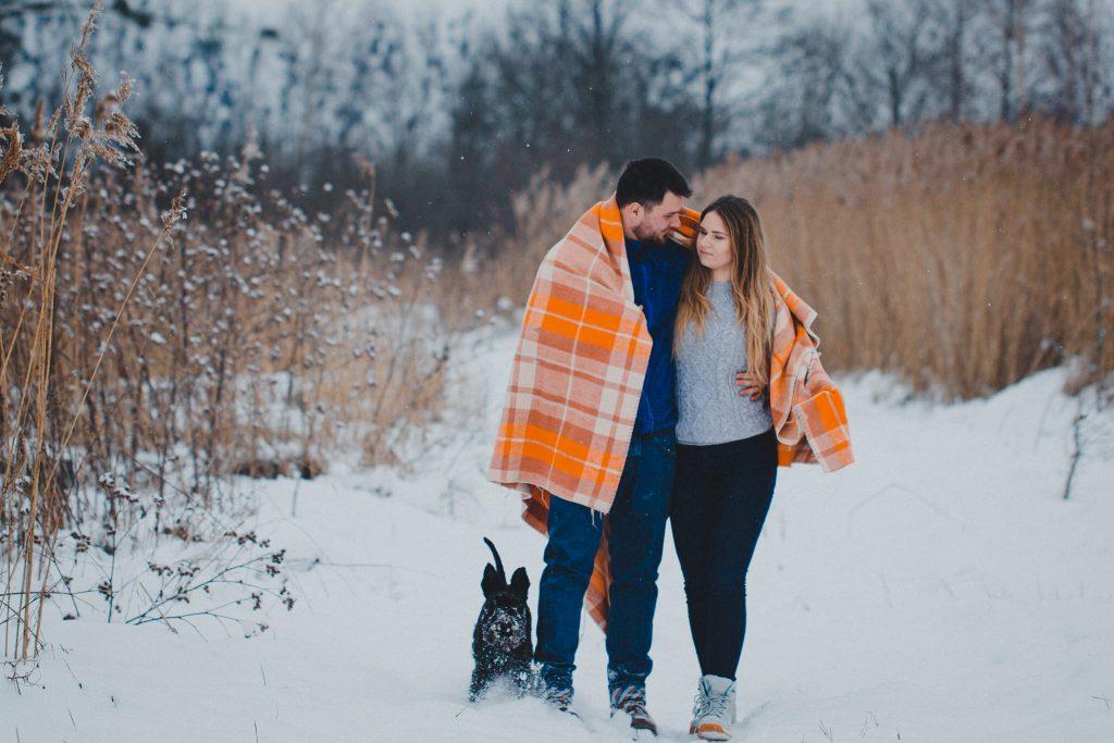zimowa sesja zakochanych kasia daniel 37 1024x683 - Sesja zimowa zakochanej pary - Kasia i Daniel | 17.01.2021