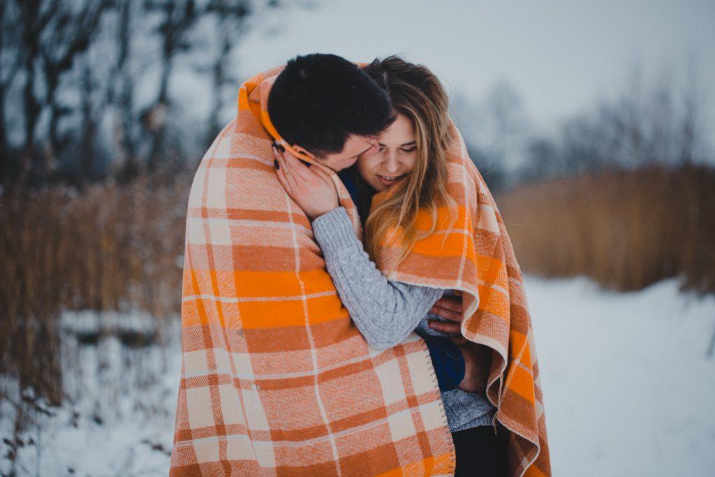 zimowa sesja zakochanych kasia daniel 40 1024x683 - Sesja zimowa zakochanej pary - Kasia i Daniel | 17.01.2021