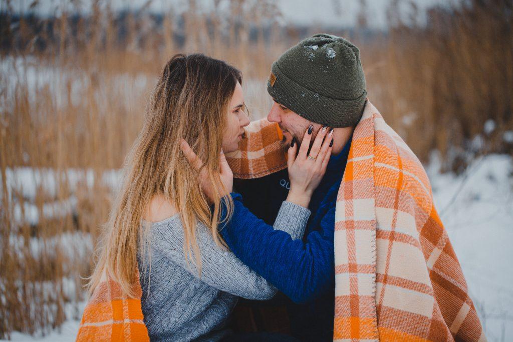 zimowa sesja zakochanych kasia daniel 46 1024x683 - Sesja zimowa zakochanej pary - Kasia i Daniel | 17.01.2021