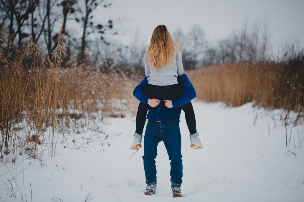 zimowa sesja zakochanych kasia daniel 58 1024x683 - Sesja zimowa zakochanej pary - Kasia i Daniel | 17.01.2021