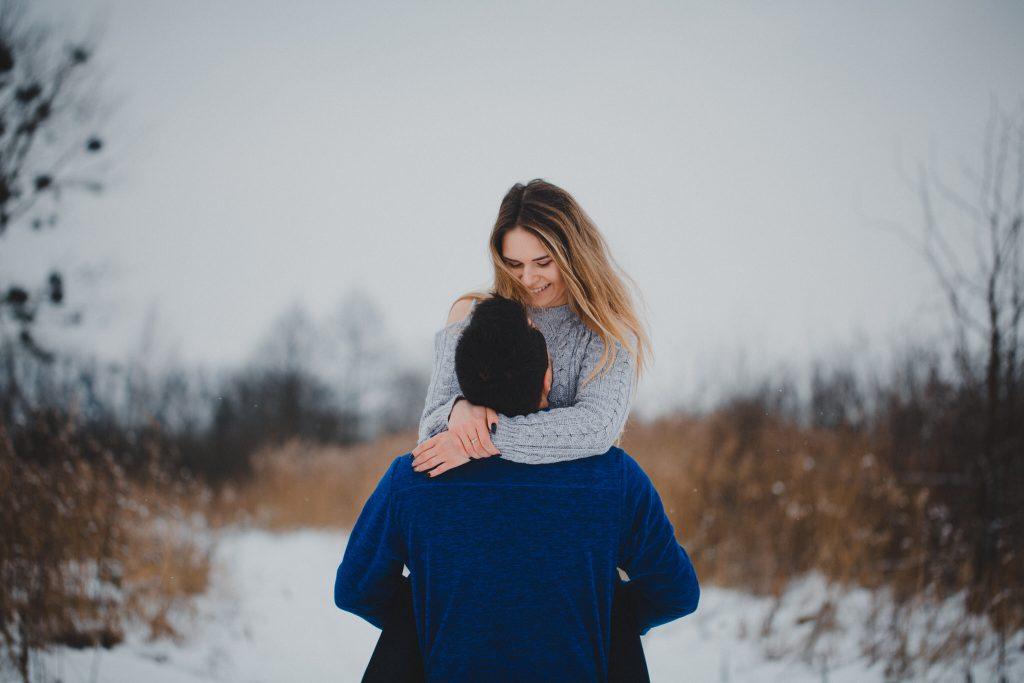 zimowa sesja zakochanych kasia daniel 61 1024x683 - Sesja zimowa zakochanej pary - Kasia i Daniel | 17.01.2021