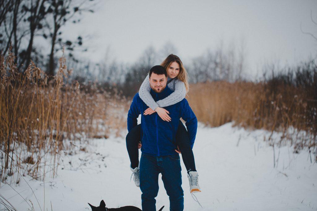 zimowa sesja zakochanych kasia daniel 62 1024x683 - Sesja zimowa zakochanej pary - Kasia i Daniel | 17.01.2021