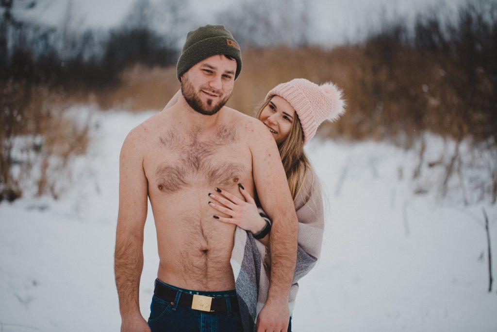 zimowa sesja zakochanych kasia daniel 77 1024x683 - Sesja zimowa zakochanej pary - Kasia i Daniel | 17.01.2021