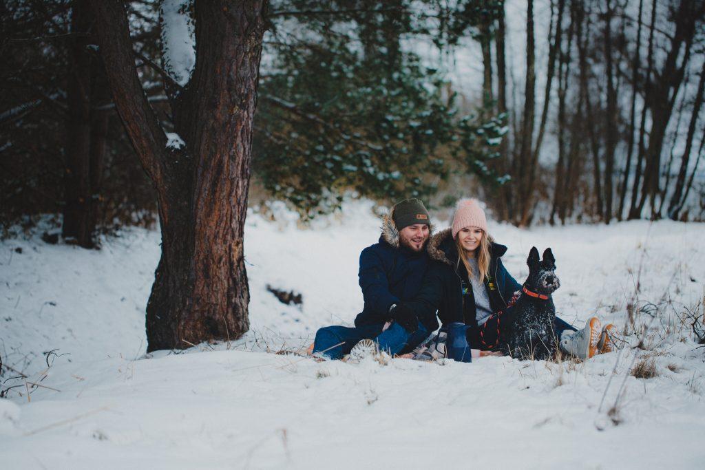 zimowa sesja zakochanych kasia daniel 79 1024x683 - Sesja zimowa zakochanej pary - Kasia i Daniel | 17.01.2021