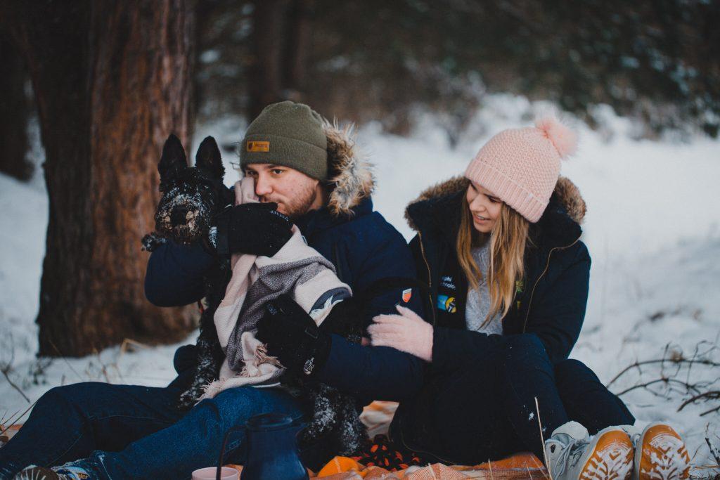 zimowa sesja zakochanych kasia daniel 81 1024x683 - Sesja zimowa zakochanej pary - Kasia i Daniel | 17.01.2021