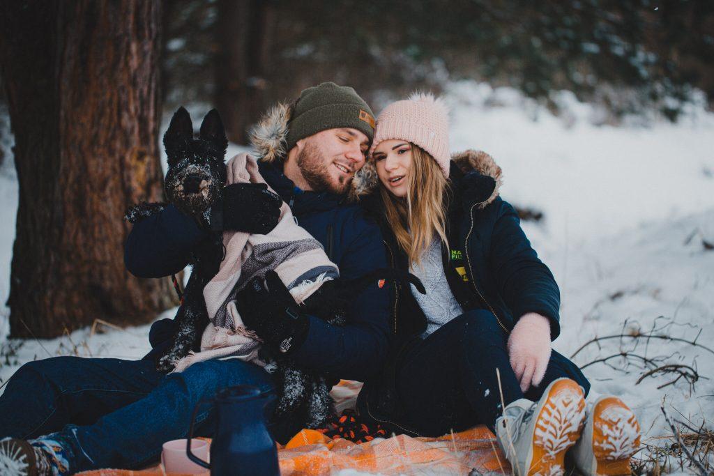 zimowa sesja zakochanych kasia daniel 82 1024x683 - Sesja zimowa zakochanej pary - Kasia i Daniel | 17.01.2021