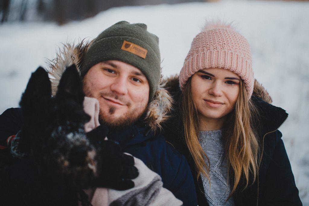 zimowa sesja zakochanych kasia daniel 84 1024x683 - Sesja zimowa zakochanej pary - Kasia i Daniel | 17.01.2021
