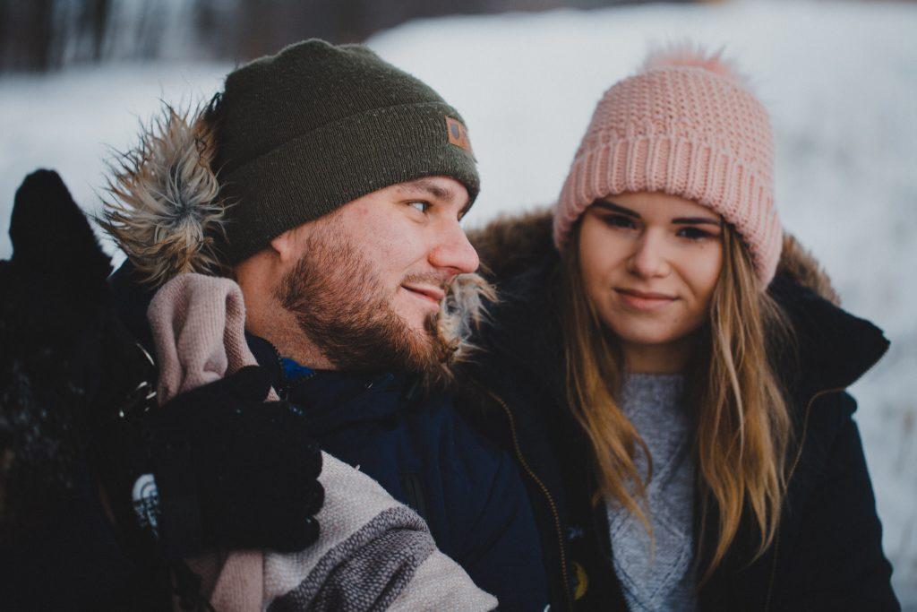 zimowa sesja zakochanych kasia daniel 85 1024x683 - Sesja zimowa zakochanej pary - Kasia i Daniel | 17.01.2021