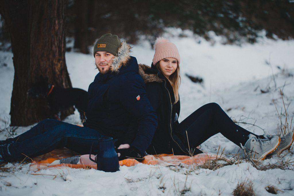 zimowa sesja zakochanych kasia daniel 87 1024x683 - Sesja zimowa zakochanej pary - Kasia i Daniel | 17.01.2021