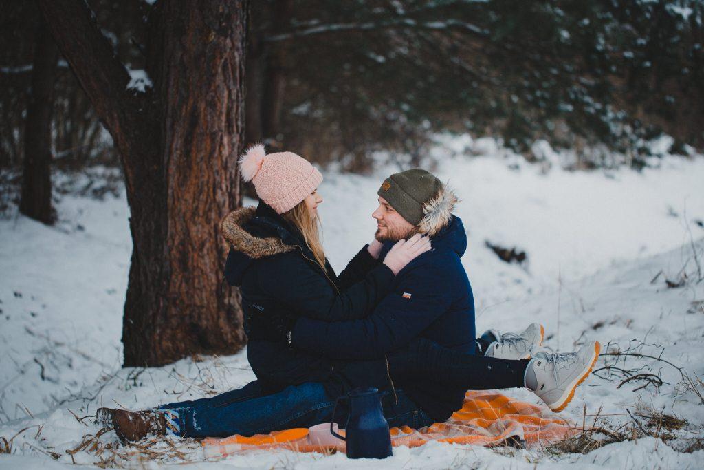 zimowa sesja zakochanych kasia daniel 88 1024x683 - Sesja zimowa zakochanej pary - Kasia i Daniel | 17.01.2021