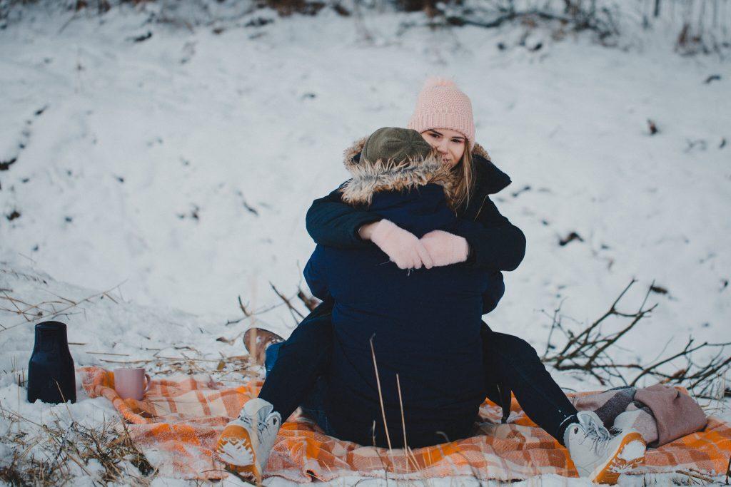 zimowa sesja zakochanych kasia daniel 90 1024x683 - Sesja zimowa zakochanej pary - Kasia i Daniel | 17.01.2021