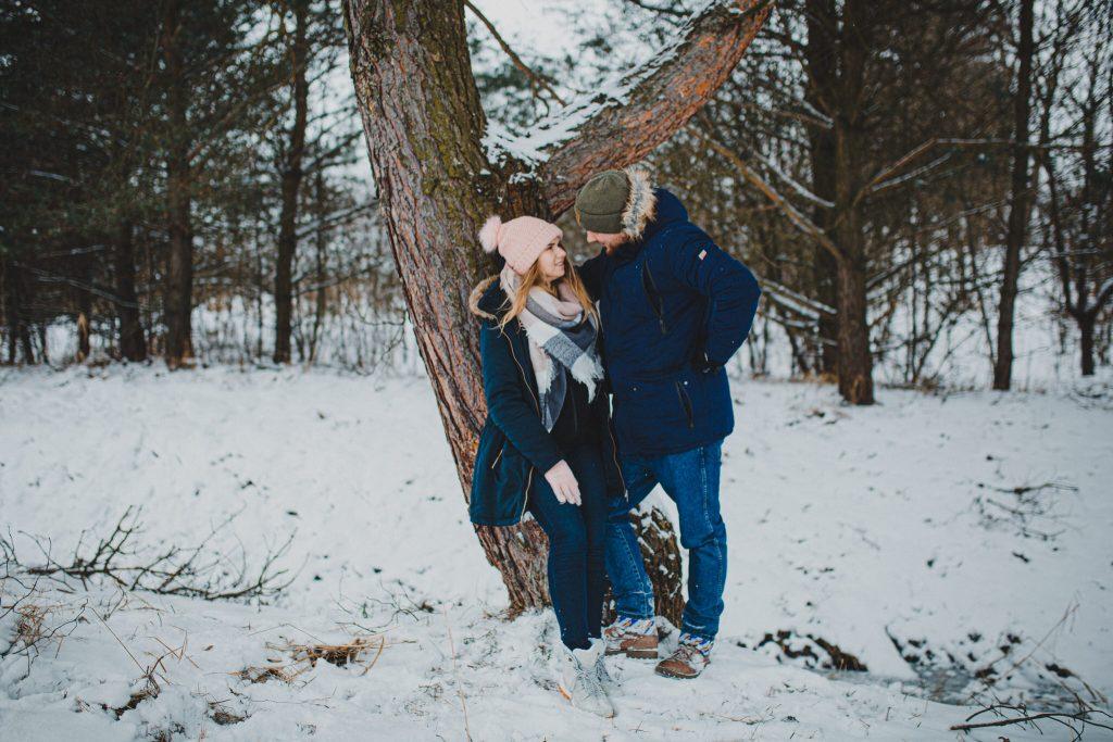 zimowa sesja zakochanych kasia daniel 94 1024x683 - Sesja zimowa zakochanej pary - Kasia i Daniel | 17.01.2021