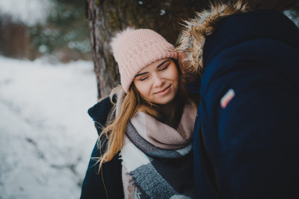 zimowa sesja zakochanych kasia daniel 98 1024x683 - Sesja zimowa zakochanej pary - Kasia i Daniel | 17.01.2021