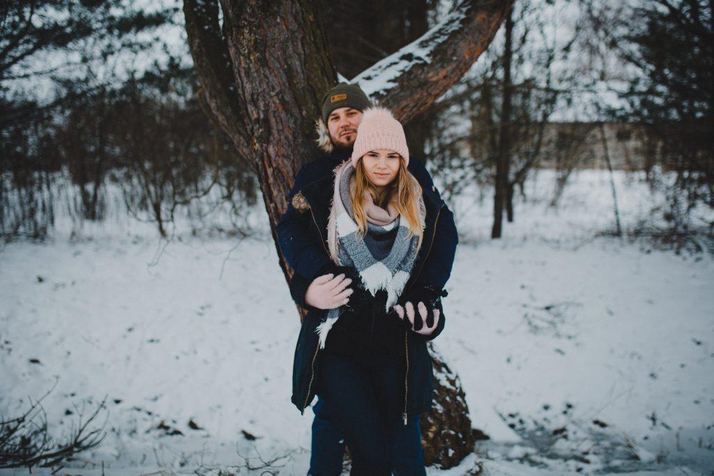 zimowa sesja zakochanych kasia daniel 99 1024x683 - Sesja zimowa zakochanej pary - Kasia i Daniel | 17.01.2021