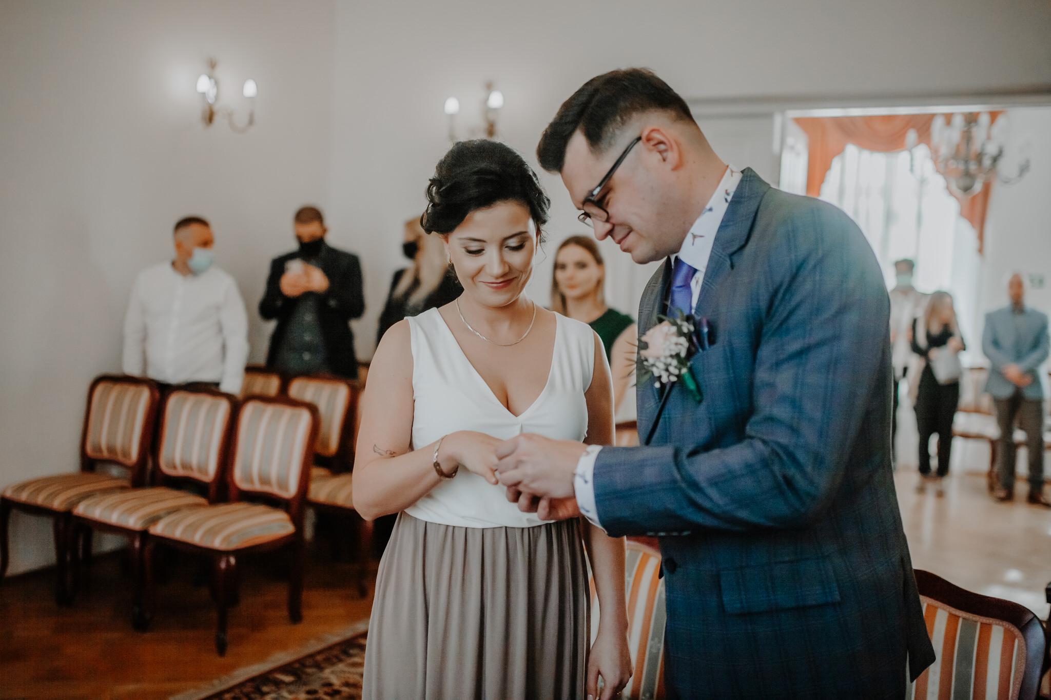 Ślub cywilny Chełm | Justyna i Kamil | 13.04.2021